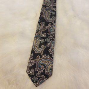 Kuppenheimer Imported All Silk Paisley Design Tie